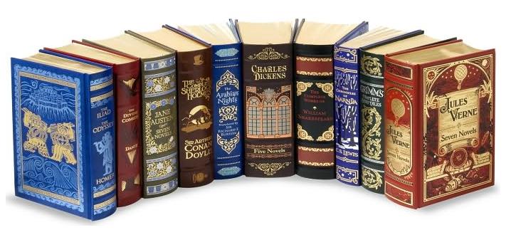 Classic Book Cover Uk : Barnes nobles läderinbundna klassiker bokfrossa